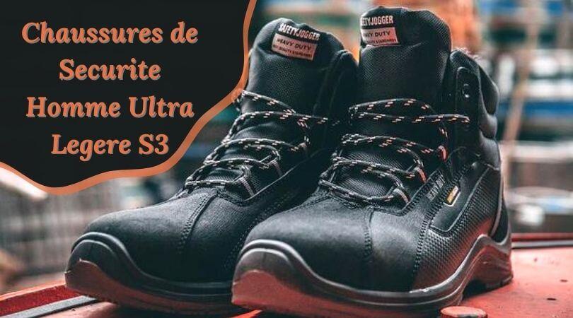 Chaussures de Securite Homme Ultra Legere S3